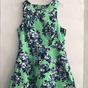 J Crew Floral sleeveless dress